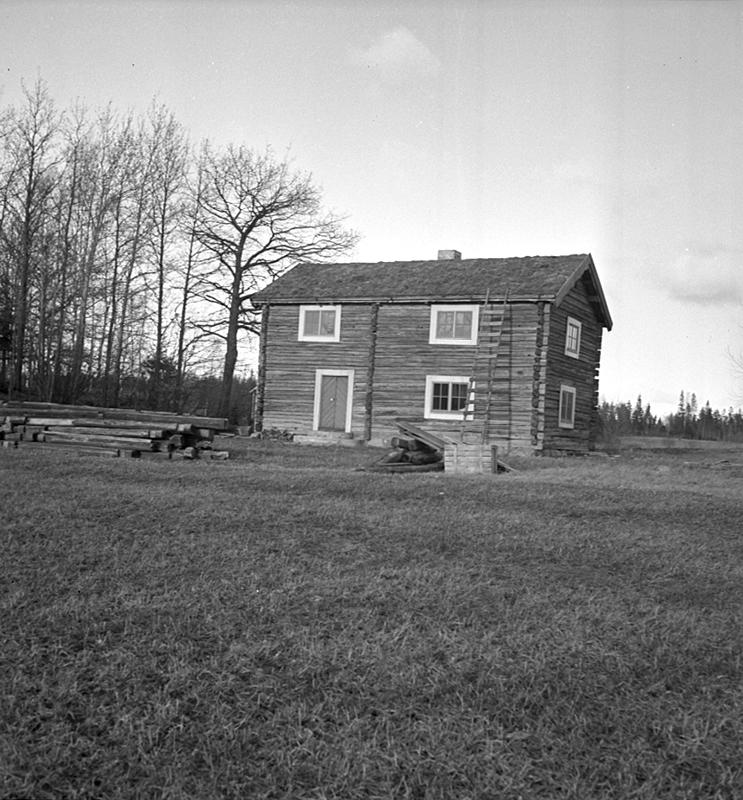 Sköllersta forngård, exteriör.7 mars 1938.