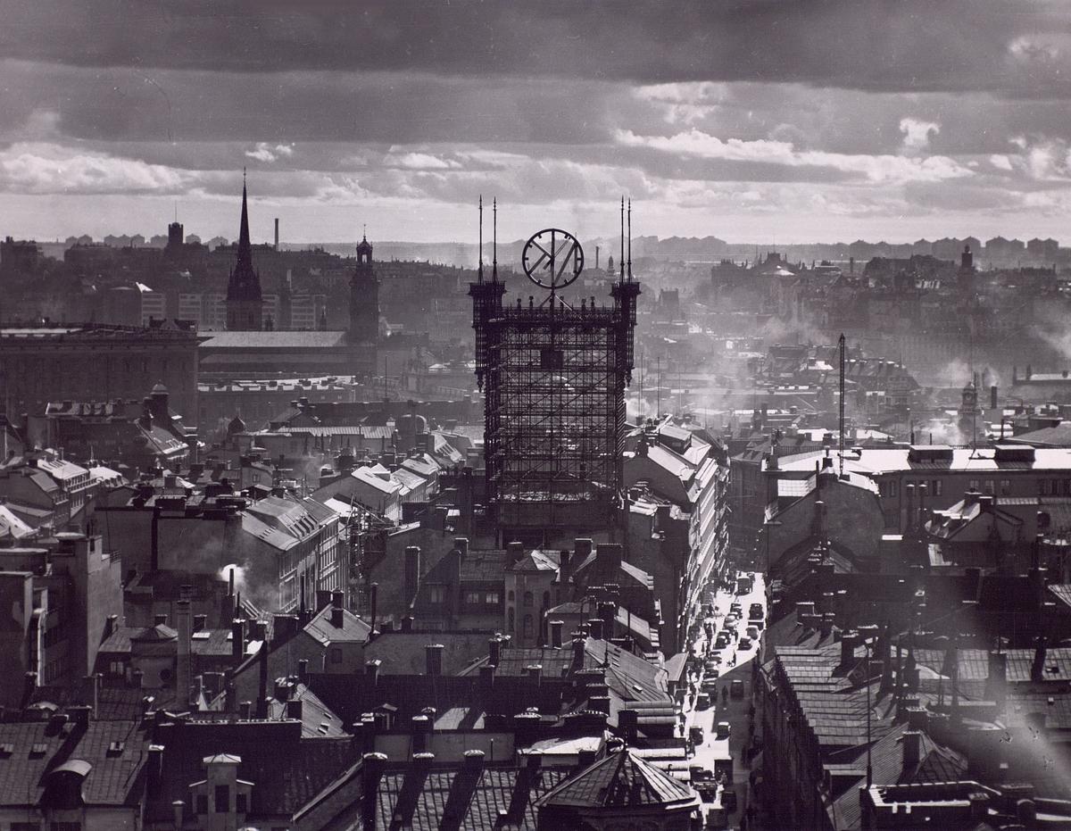 Telefontornet Stockholm, september 1952