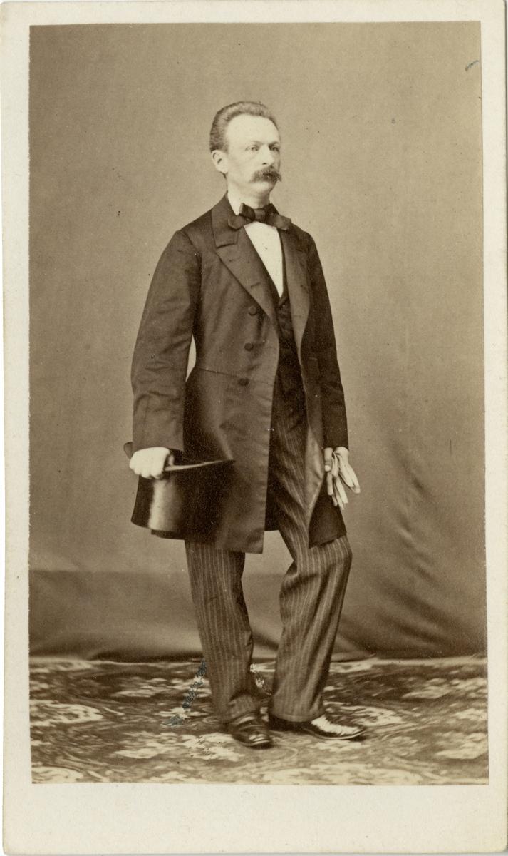 Porträtt av Carl Philiph Wilhelm Broman, officer vid Skaraborgs regemente I 9.