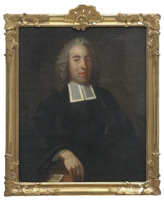 Abraham Pettersson, 1724-1763, teol.dr, hovpredikant, gift med Ulrika Elisabet von Hauswolff
