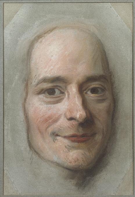 Porträtt av Voltaire (1694-1778)