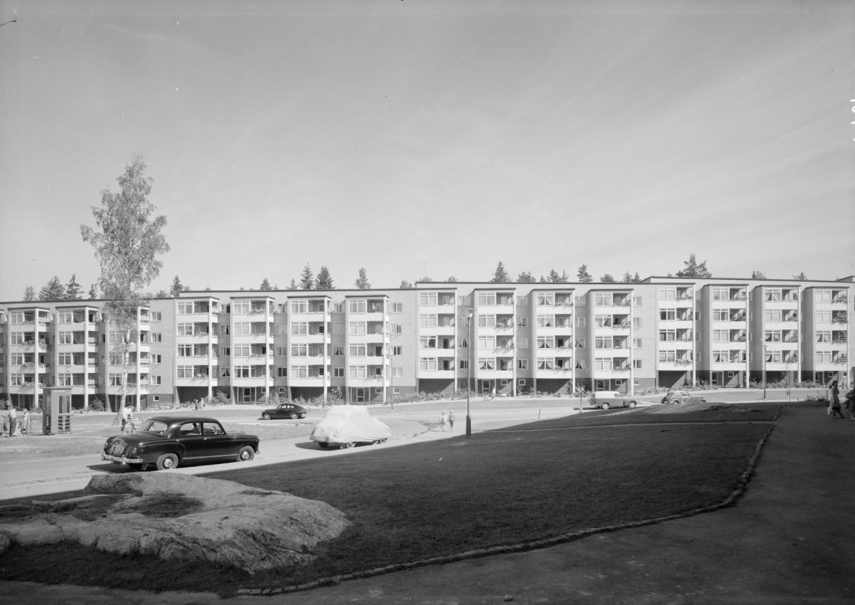 Lav- og høyblokker på Bøler i Oslo.