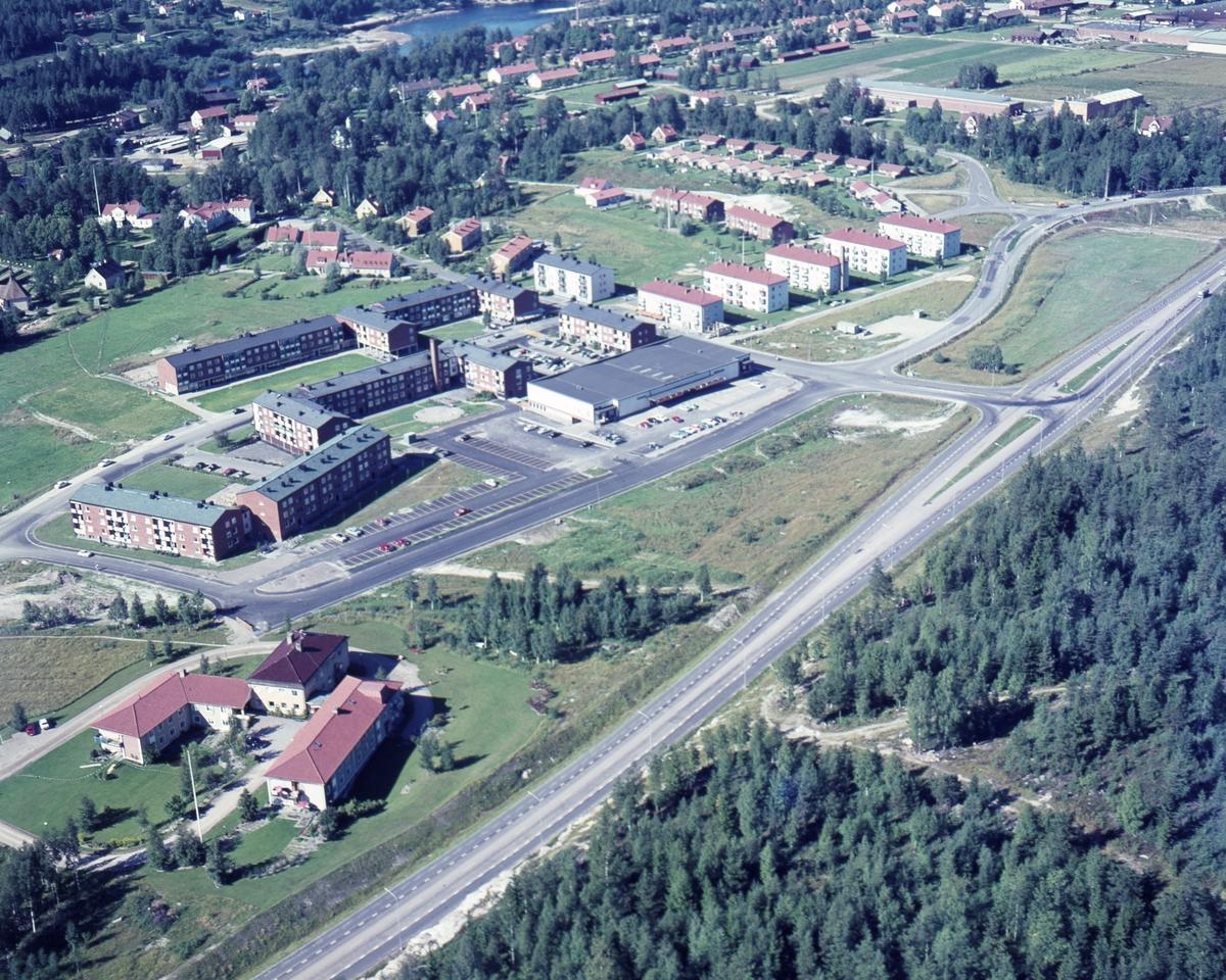 Munkfors från luften år 1966.