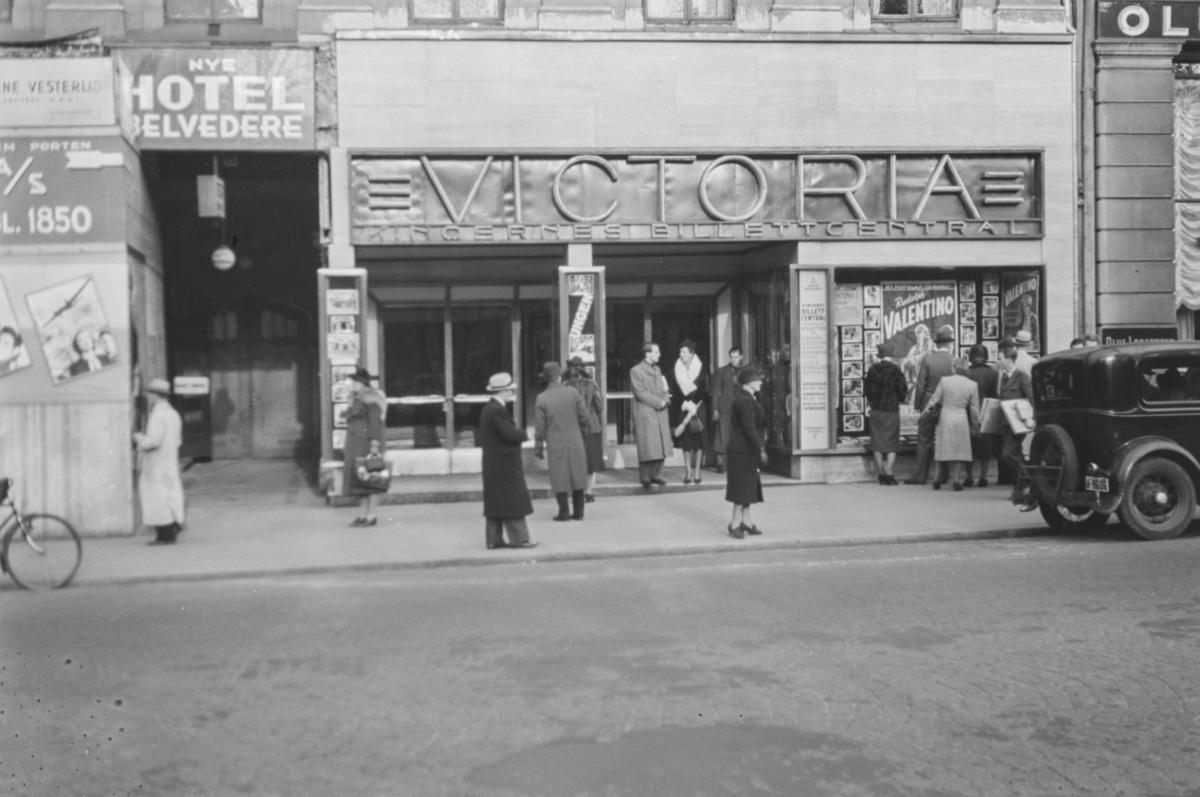 Victoria kino, fasade.