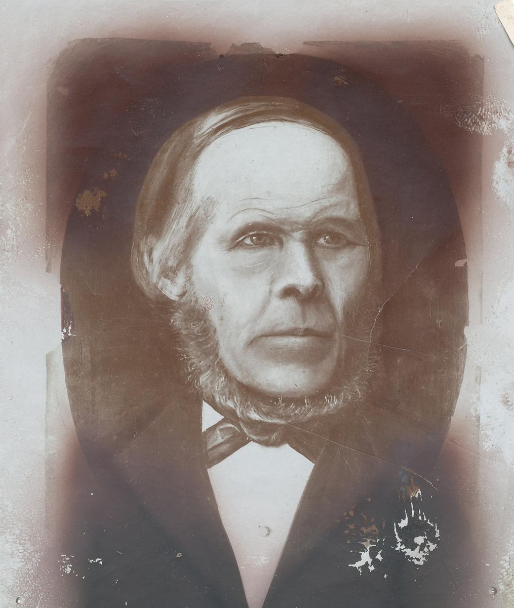 Portrett av Johan Madsen Solstad.