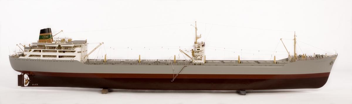 Fartygsmodell av malmtanksfartyget SOYA ATLANTIC.