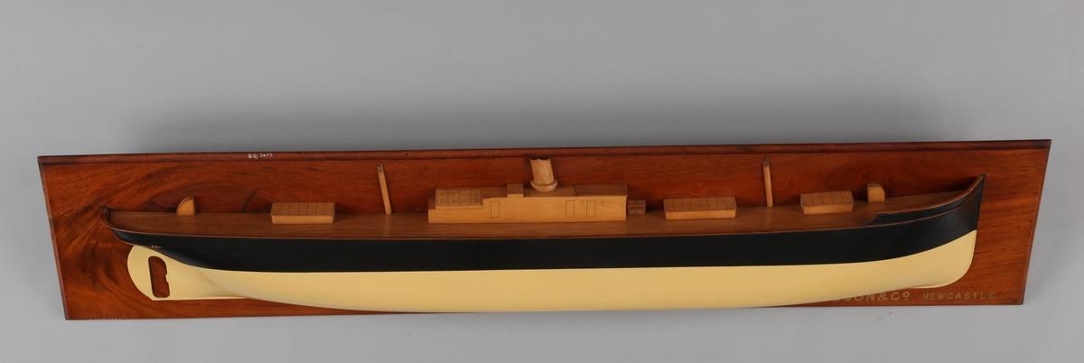 Halvmodell av DS ITALIA, bg. 1888