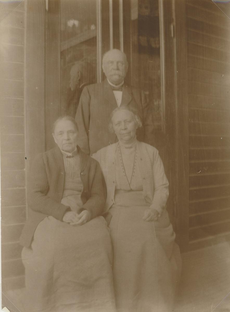 Baggensudden 1904. Tyra och Axel Ideström.