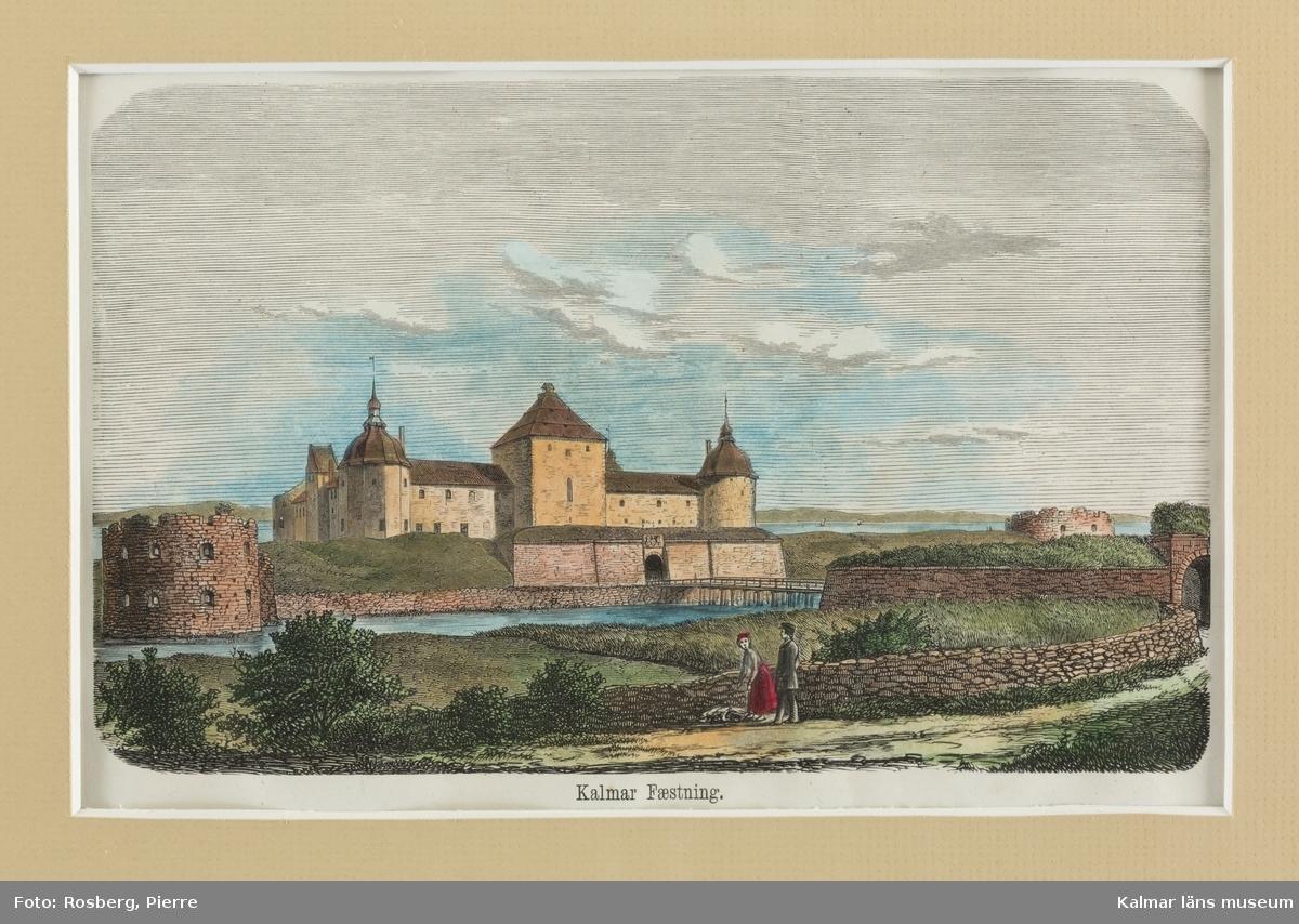 Kalmar slott, exteriörer och interiörer. Kungsmaket och Gyllene salen.