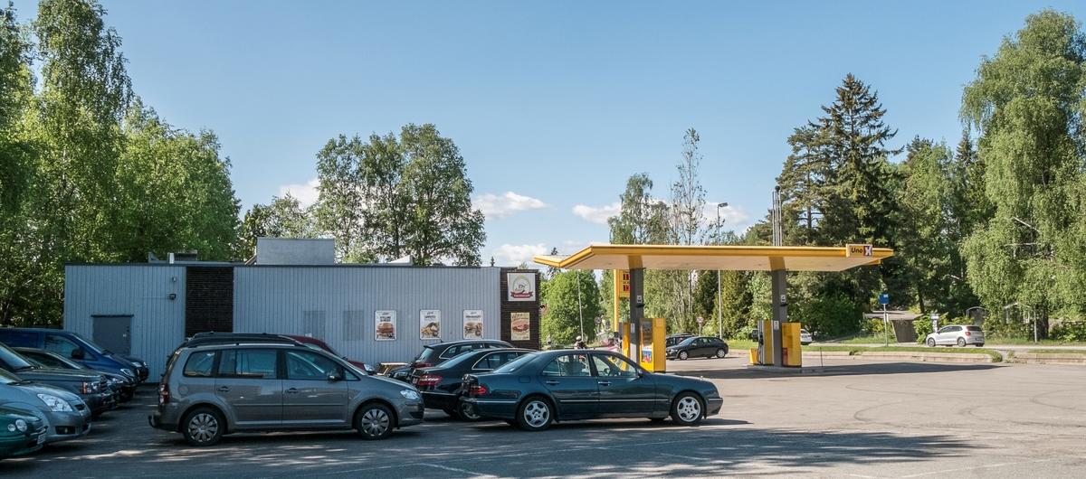 Uno X bensinstasjon Sønsterudveien Sofiemyr Oppegård