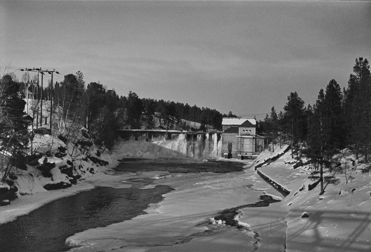 Røstfossen kraftverk mellom Os og Røros.