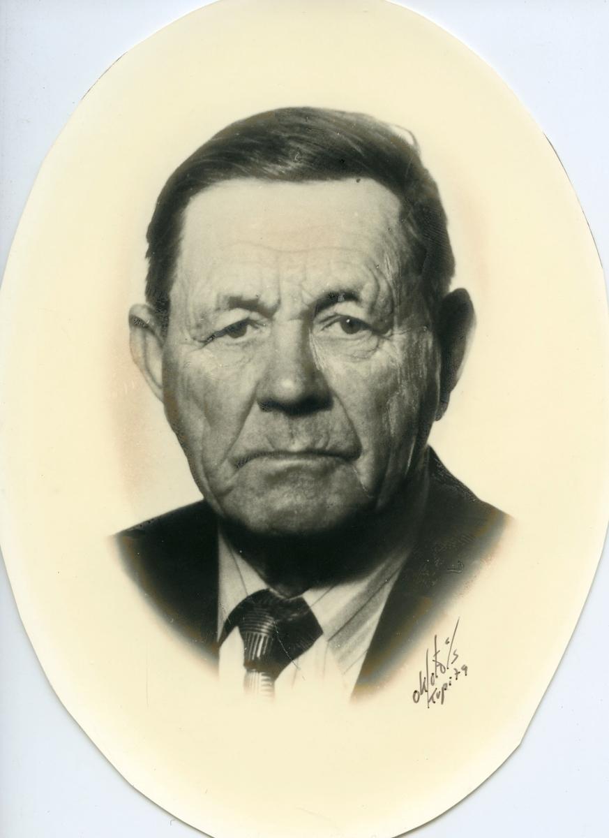 Portrett av Andres T. Innleggen