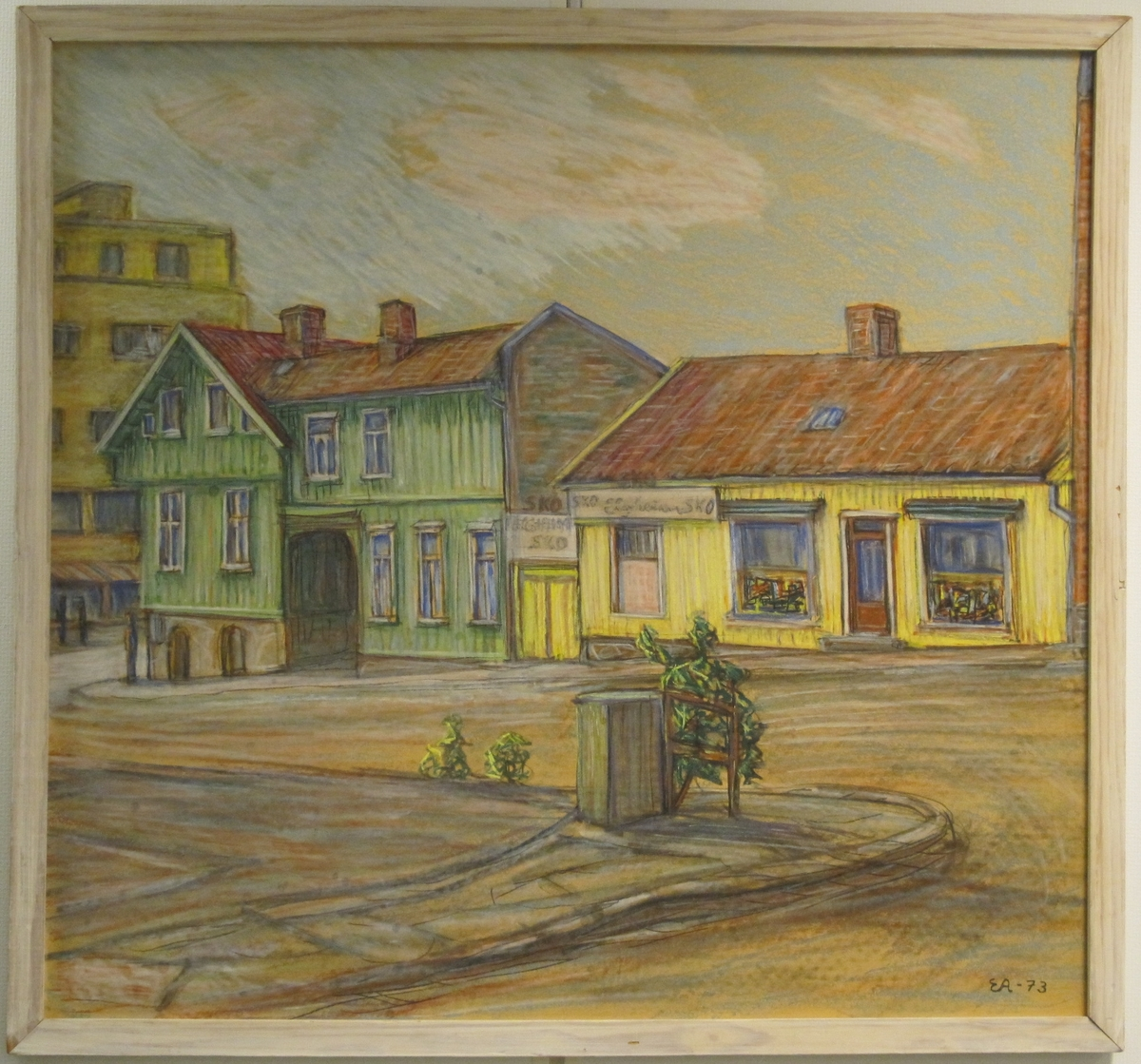Motiv fra Fredrikstad sentrum, Arne Stangebyesgate.