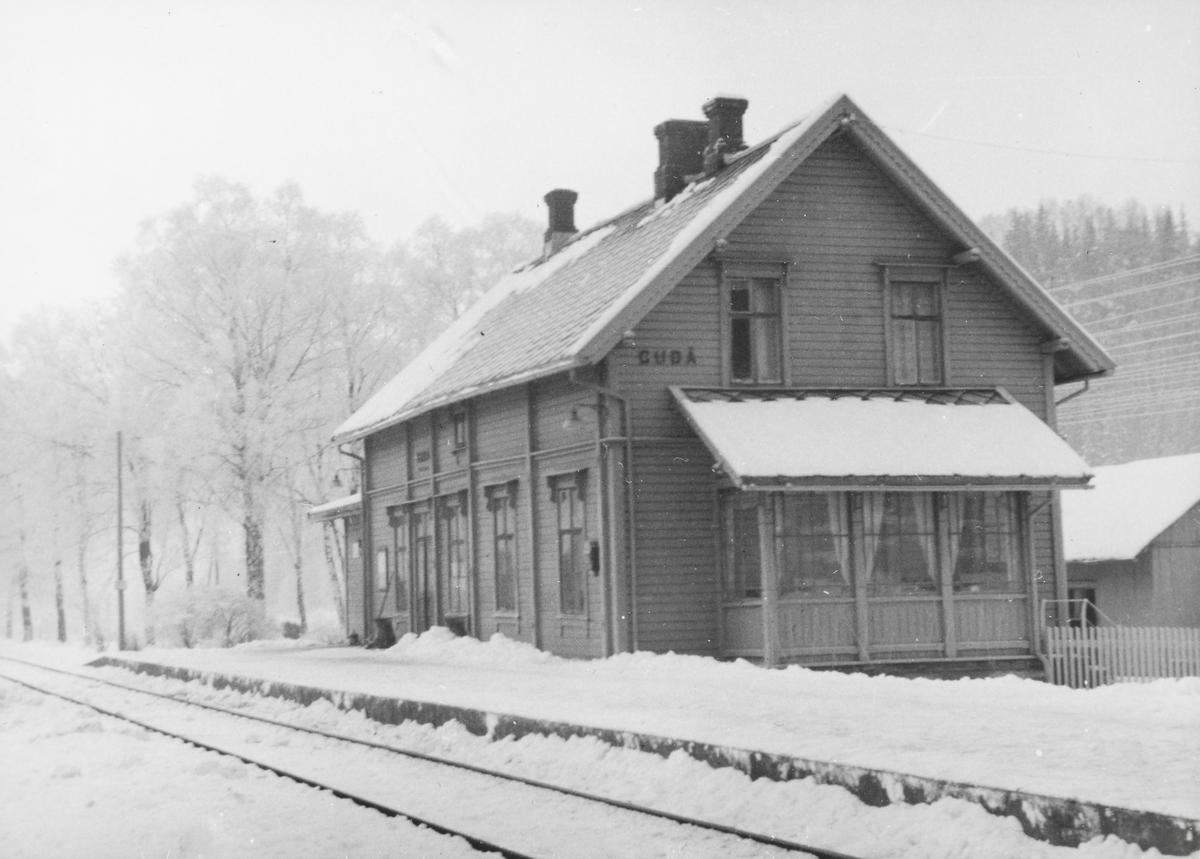 Gudå stasjon på Meråkerbanen