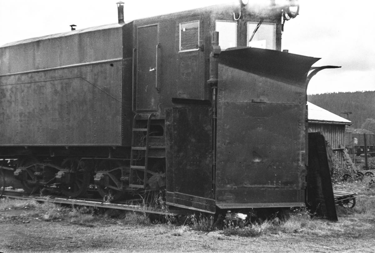 Namsosbanens snøplog «Tirpitz», en tyskbygget Klima-snøplog som kom til Norge under 2. verdenskrig.