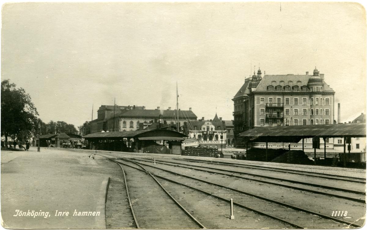 Inre hamnen Jönköping.