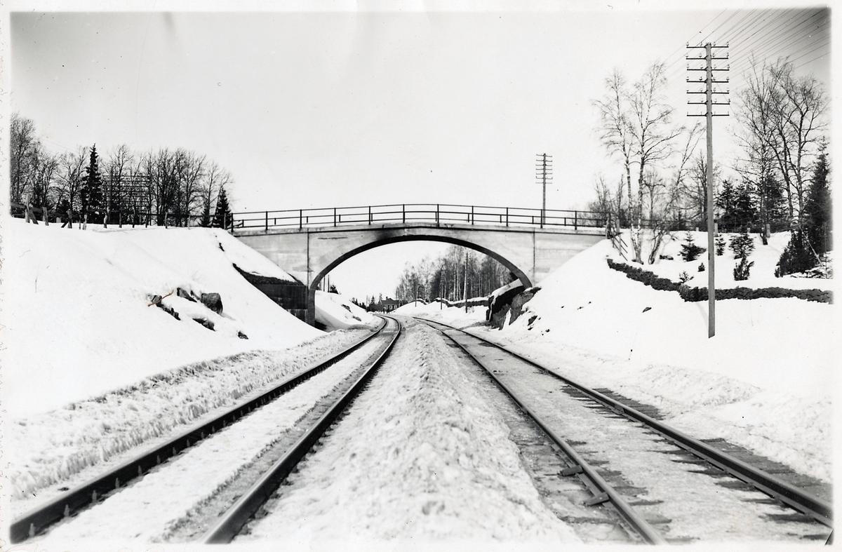 Vägbro vid Bjännesby mellan Bodafors - Sävsjö.