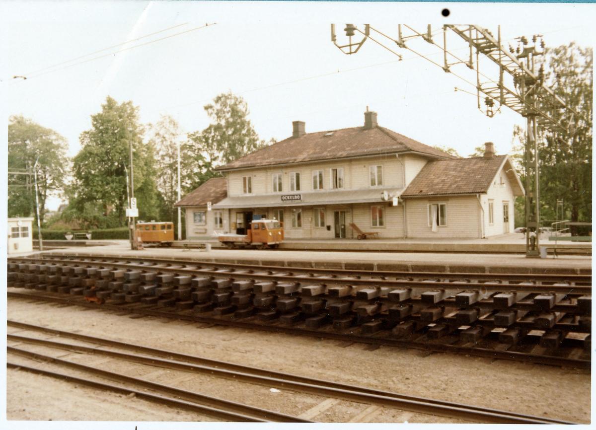 Ockelbo station.