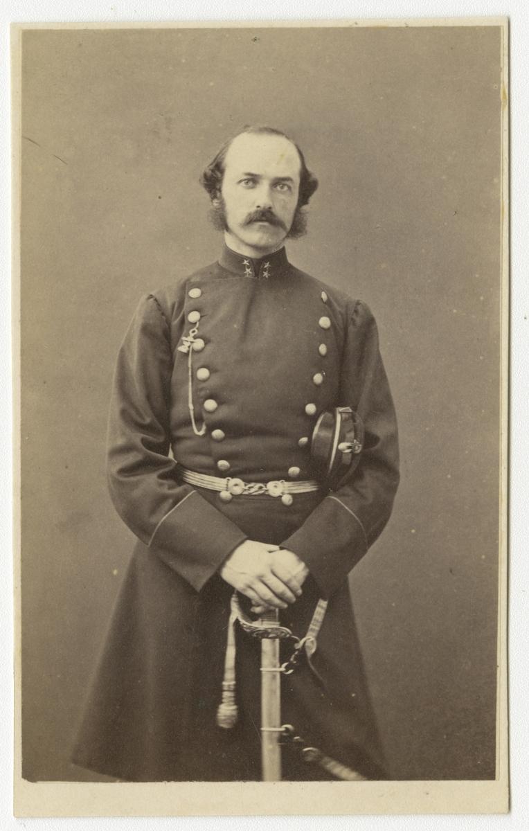 Porträtt av Olof Richard Meurling, officer vid Västmanlands regemente I 18.