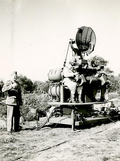 Centralsikte m/55 ingående i Artillerieldledning 703