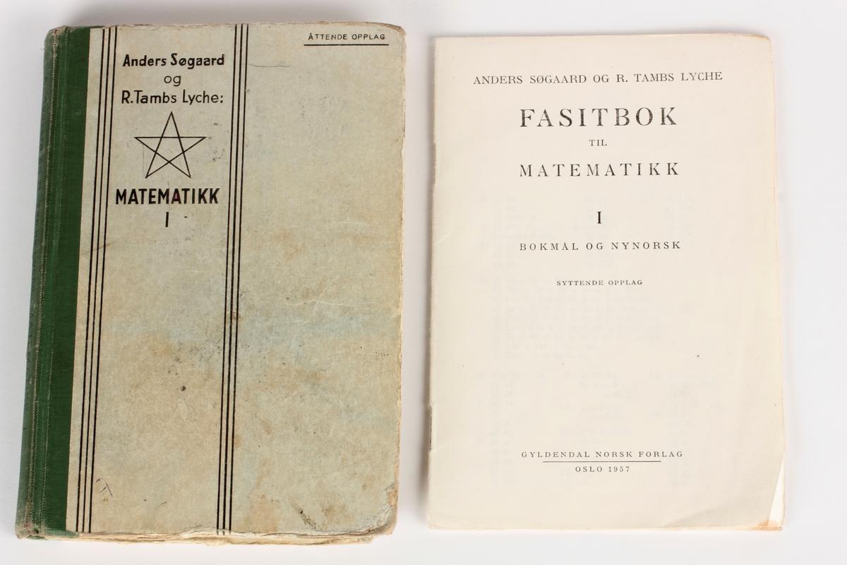 Lærebok i matematikk, med fasitbok.