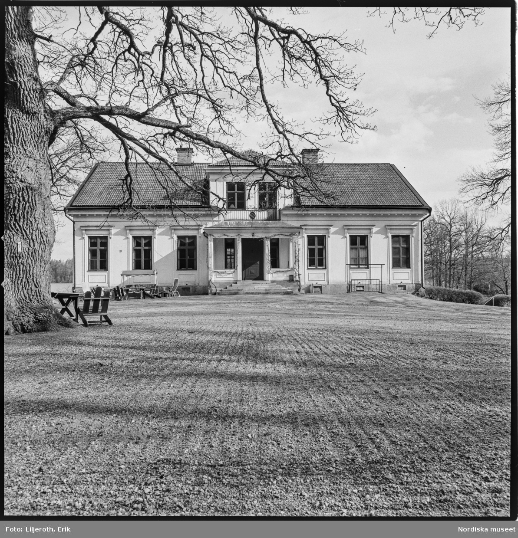 Forsnäs, herrgård, exteriör, Forsa socken, Södermanland.