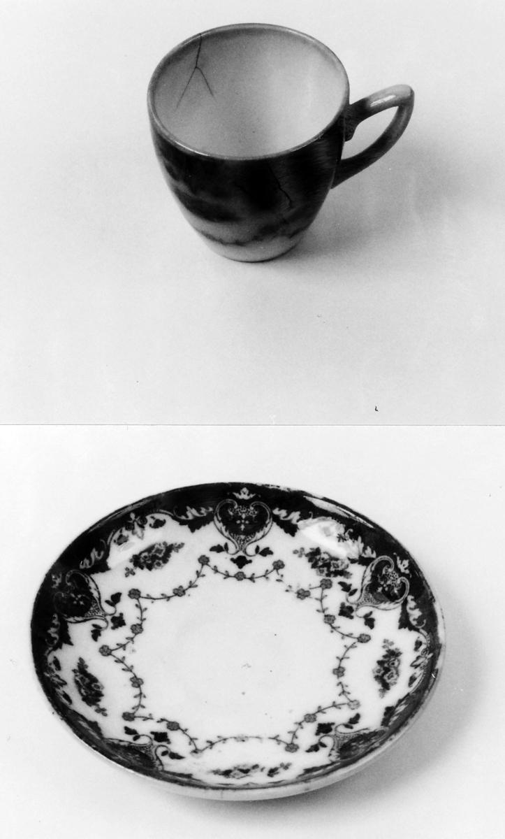 Kopp og skål som A 00849 A-B