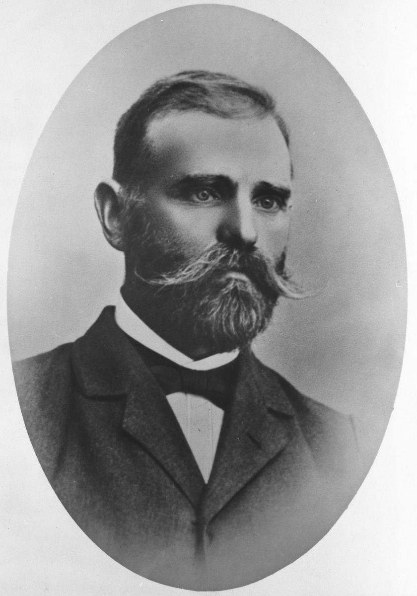 Portrett av Gustav Jahr.