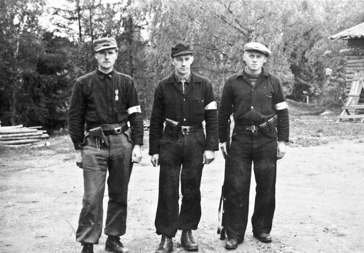 Hjemmestyrker. Kilde: Neri Ljødal 06.02.2014: Ullensaker. Fra venstre: Karl Brotnov, Kristoffer Reierstad, x. Skrevet av: OM Jahren