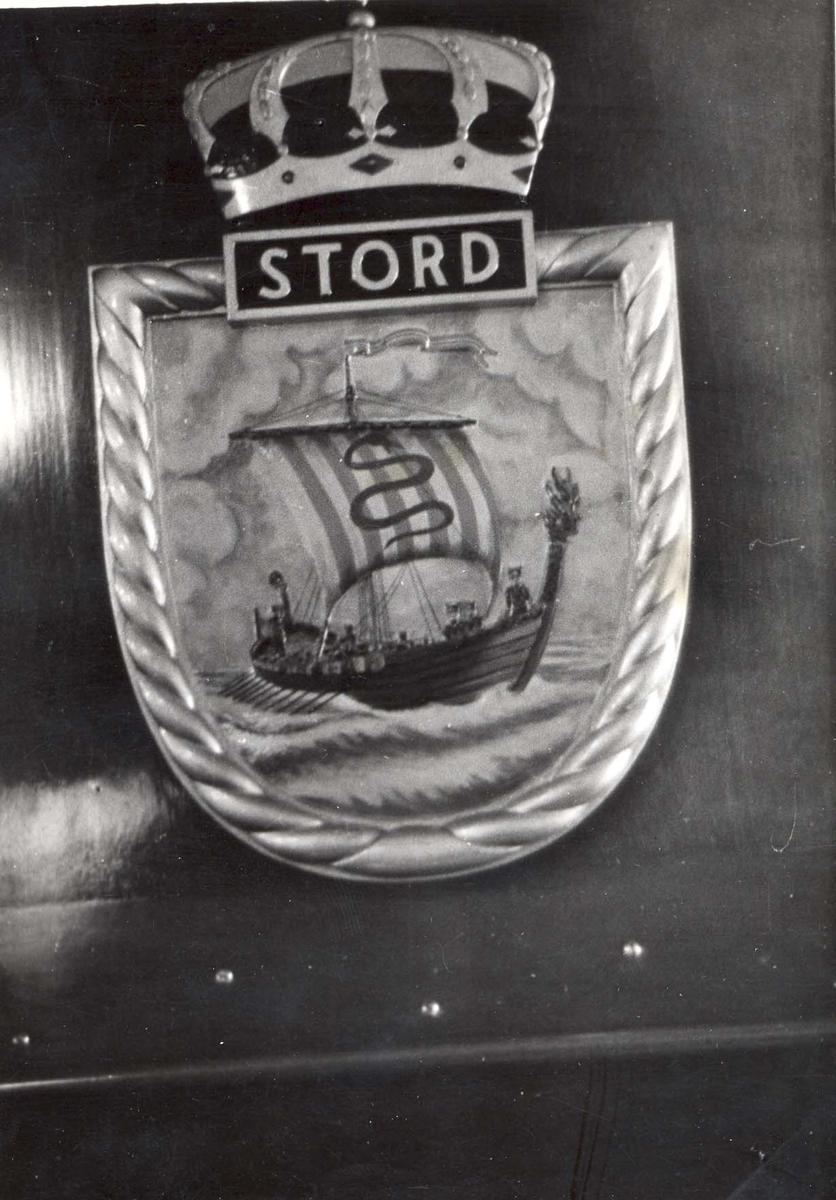 Jageren Stord, skipets crest.