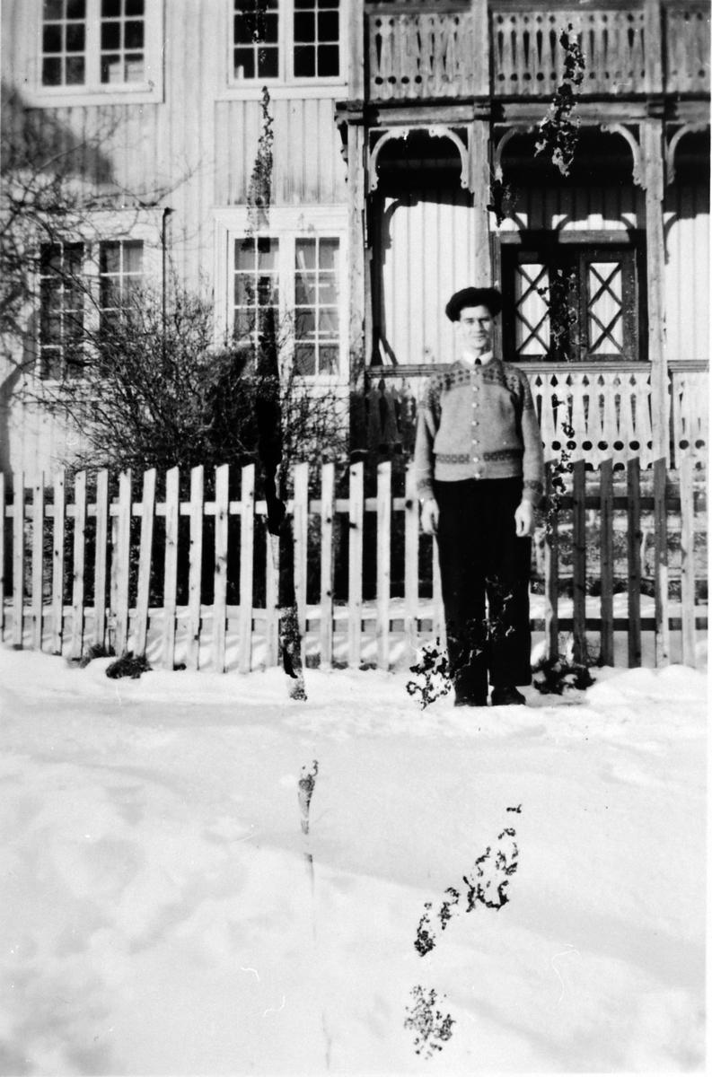 Hovedbygning , Gårum gård, pleiehjem, Nes, Hedmark. ukjent person, 1946.