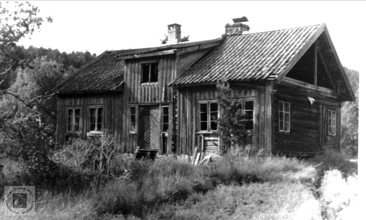 Grovan utanfor Hesså i Bjelland.