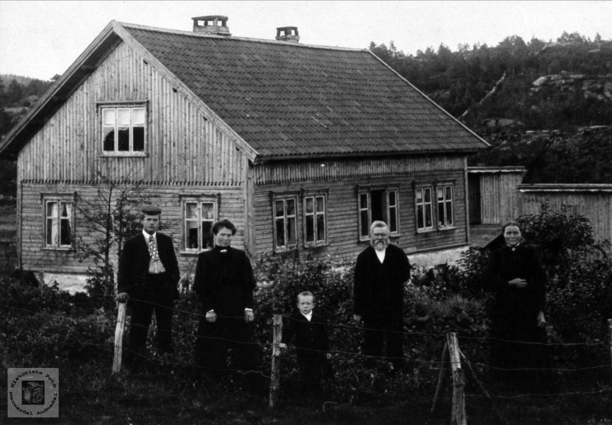 """Refsal"" garden Ask i Bjelland."