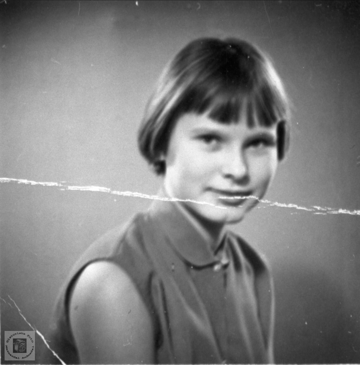 Portrett av Eva Brit Håberg, Bjelland