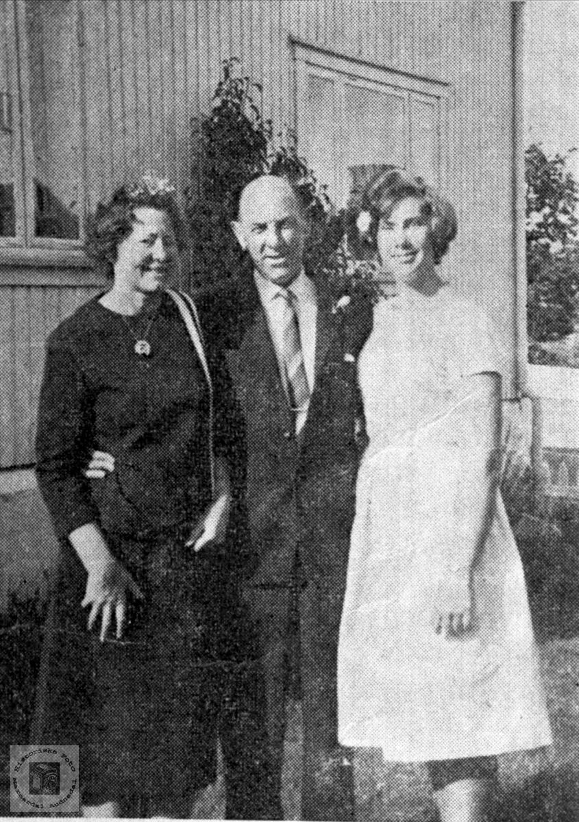 Prost Hågan m/ familie