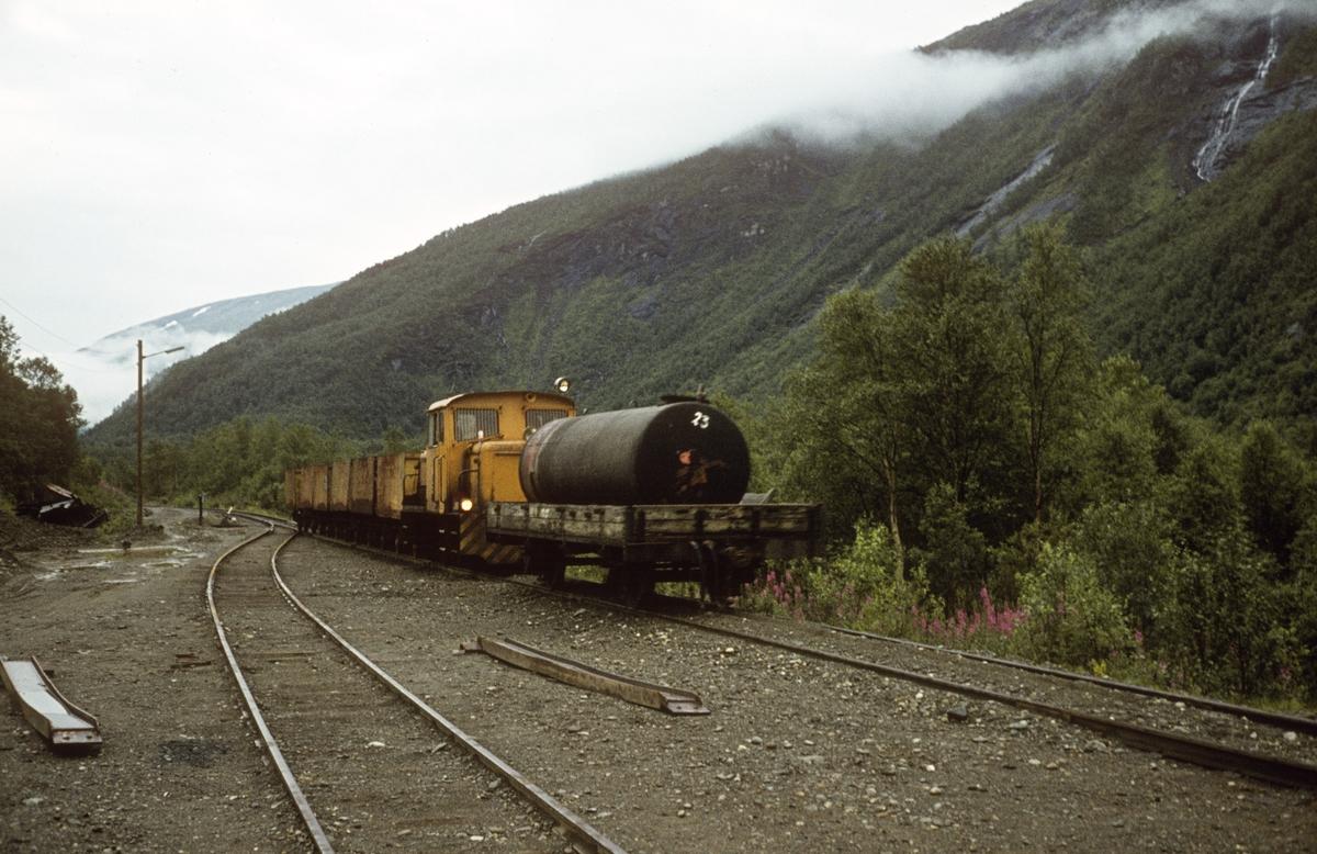 Gitt som gave til Stiftelsen Urskog-Hølandsbanen fra Hans Petter Grøners etterlatte i juni 2012.