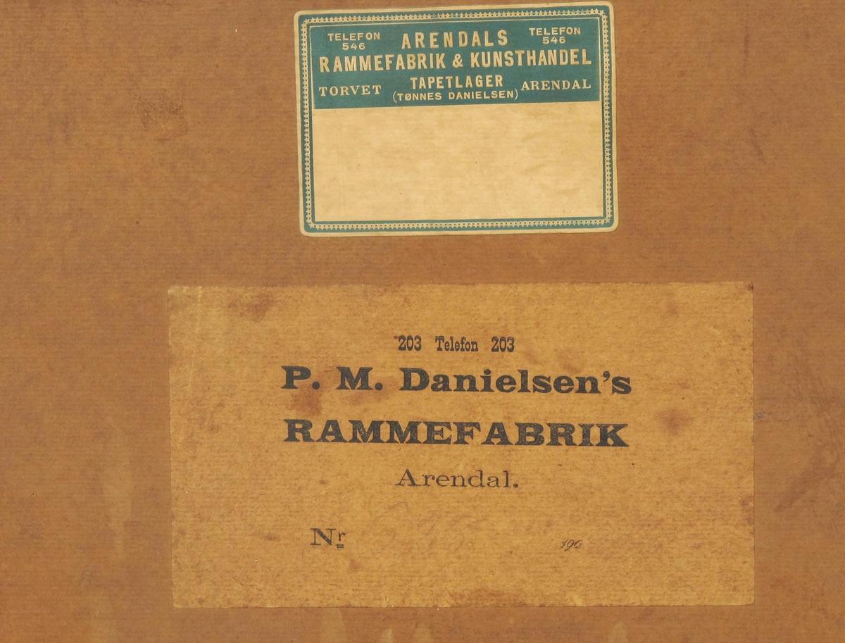 Sentrale personer i Arendal Turnforening gjennom foreningens første 50 år.