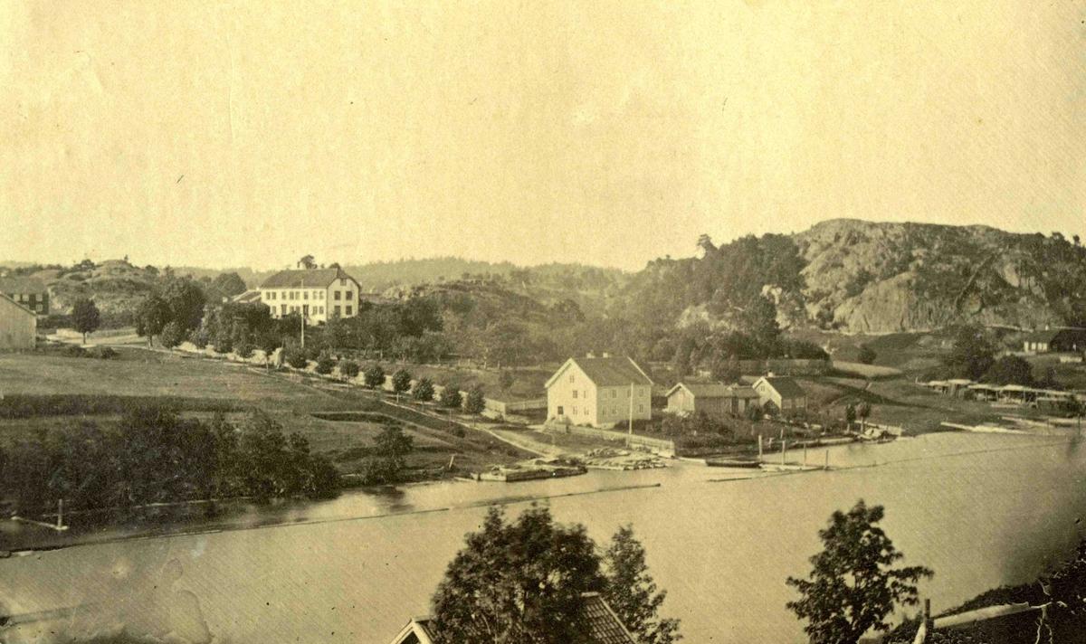 Stedsbilder Arendal Asdal - 1800 tallet  Aaks 44 - 4 - 7 Bilde nummer 128