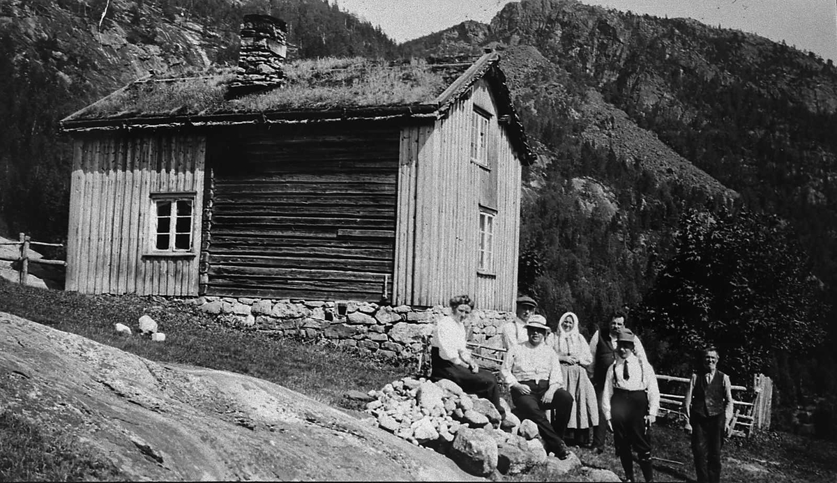 Åmlibilder samlet av Åmli historielag Sundstøyl i Gjøvdal