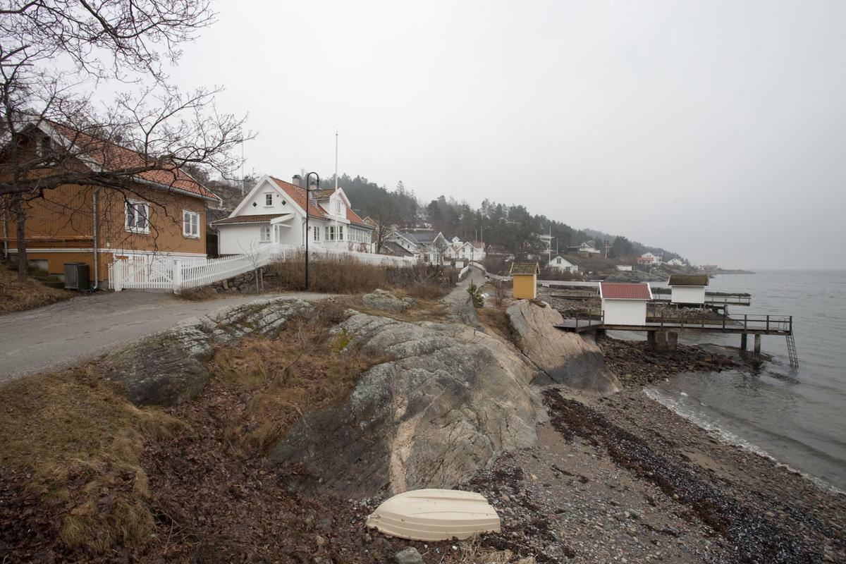 HVITSTEN, SETT FRA SJØBODENE