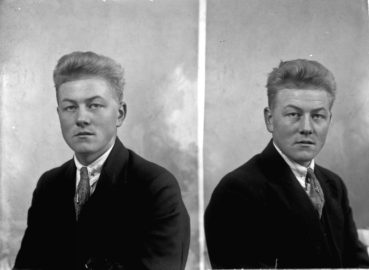 Portrett. Mann