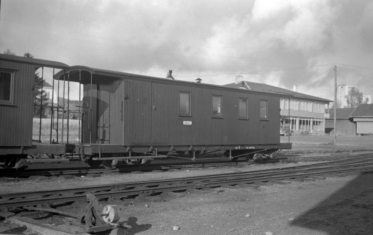 Vogn CFo 8 på Bjørkelangen stasjon.