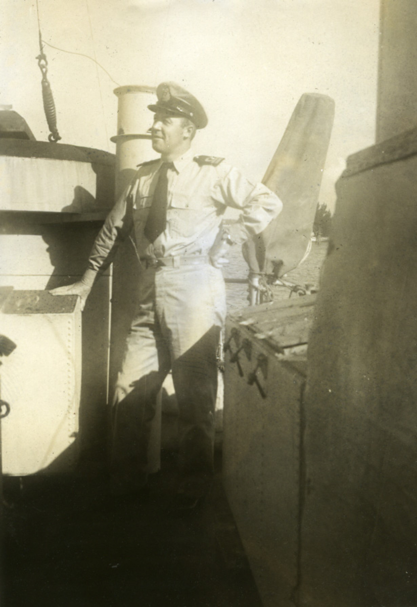 Album Ubåtjager King Haakon VII 1942-1946 Haug.