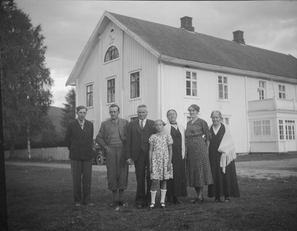 Nordre Rustad, gruppebilde