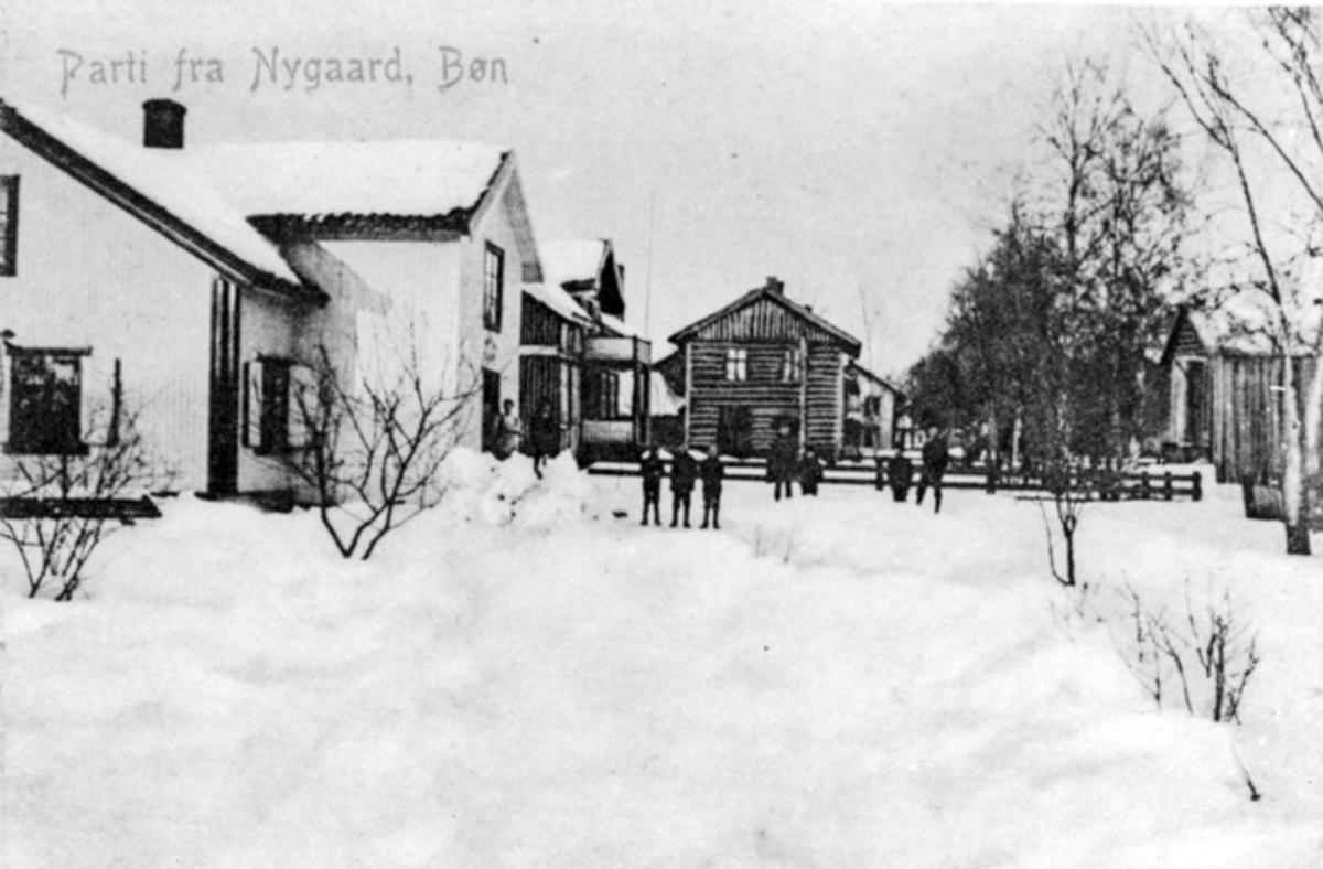 Parti fra Nygård, Bøn.